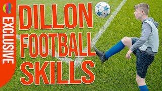 Jamie Johnson   Around The World Football Trick with Dillon