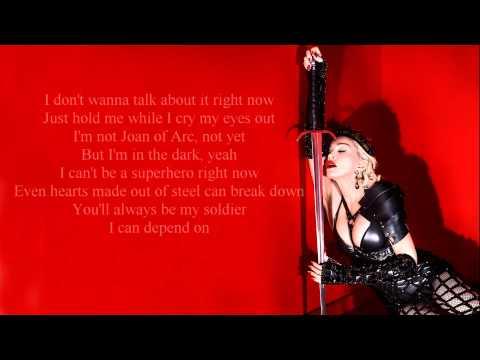 Madonna Joan of Arc Lyrics