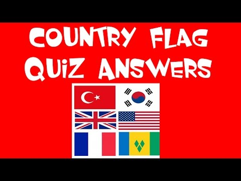 Country flag quiz - Walkthrough - All Answers