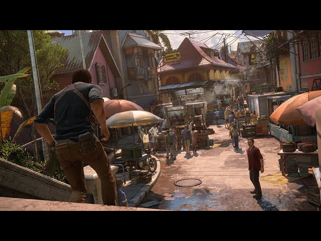 Uncharted™ 4: A Thief's End PS4 Slim Gameplay: Chapter 11