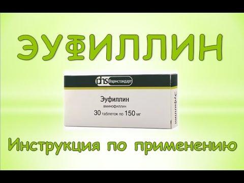 Эуфиллин (Euphyllinum) Инструкция по применению