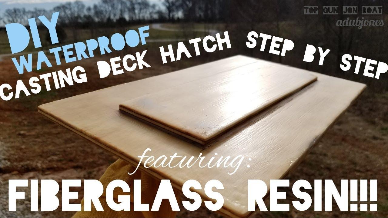 Waterproof Casting Deck Hatch W
