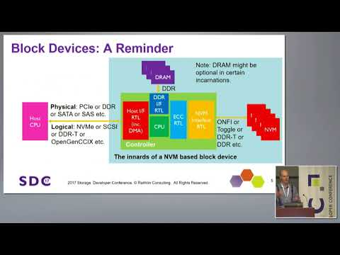 SDC 2017 - Linux Optimizations for Low Latency Block Devices - Stephen Bates