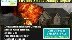 Fire damage Repair, Smoke Removal Service, emergency board up  Acworth GA