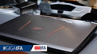 ASUS ROG GX700 Gaming-Notebook mit Wasserkühlung - Hands-On - GIGA.DE
