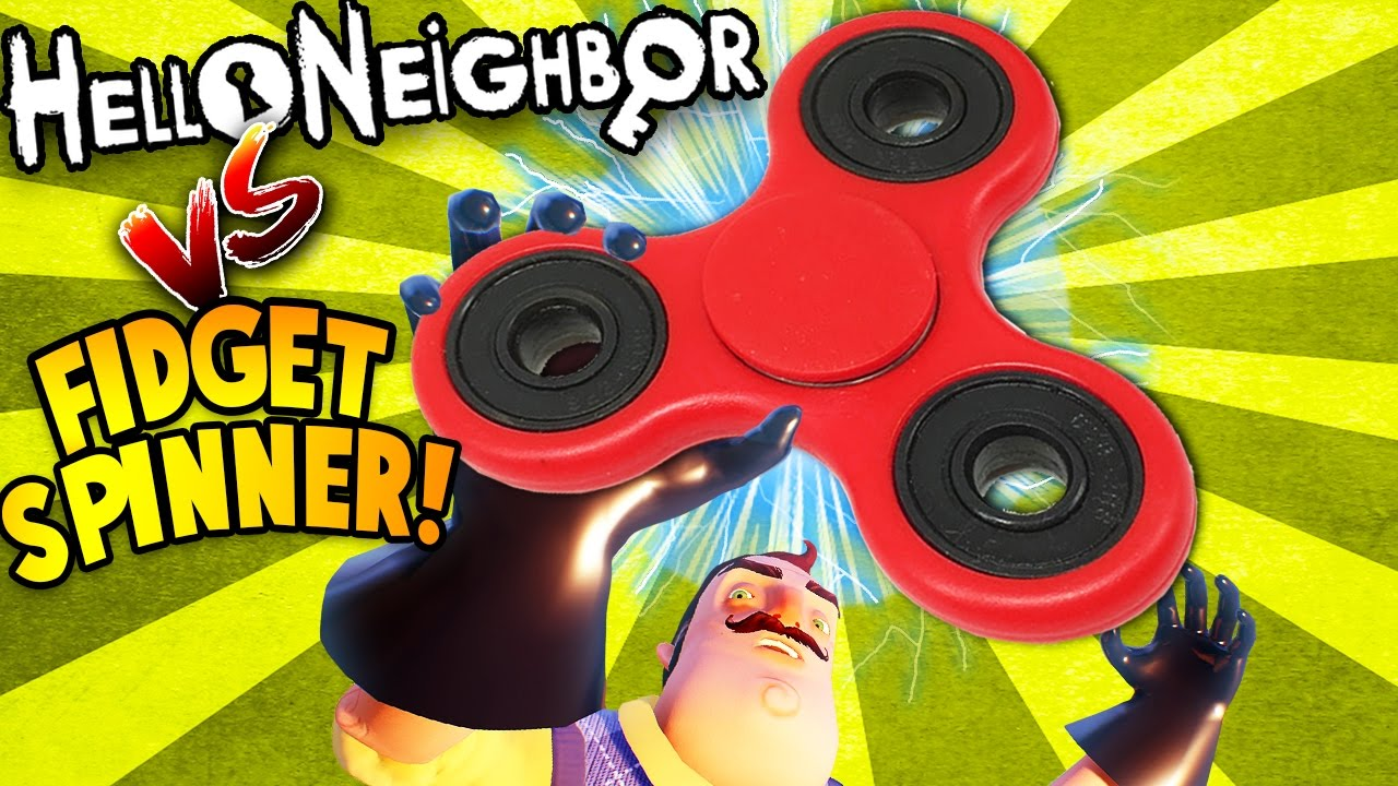 HELLO NEIGHBOR BUILDS GIANT DEADLY FIDGET SPINNER! | Hello Neighbor / Bendy And The Ink Machine Gmod