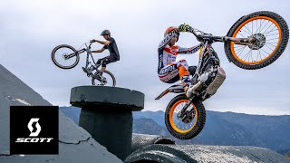 INSANE MOTO TRIALS SKILLS ON DISPLAY - GAME OF BIKE WITH TONI BOU & ANTOINE BUFFART - EPISODE 1