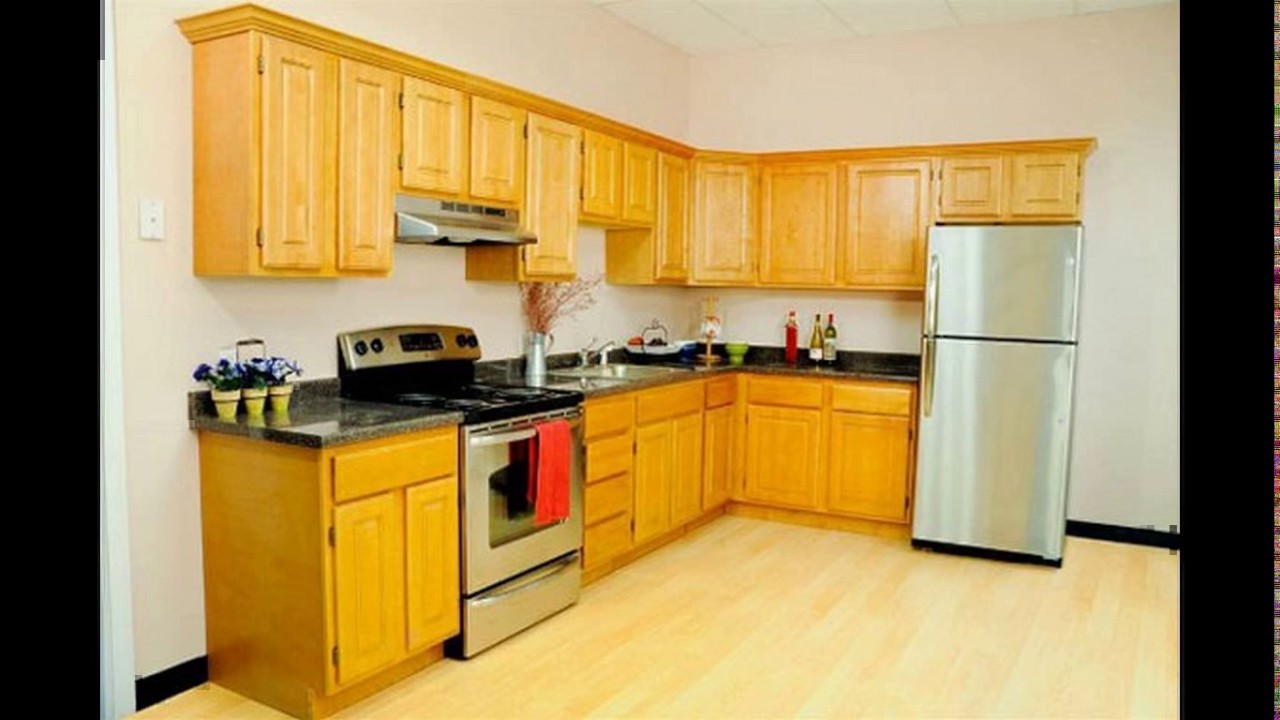 L shaped kitchen designs india youtube for India kitchen designs