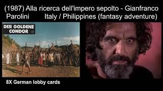Italian Historical, Peplum And Adventure Movies: 1984-1989 ('Caligula's Slaves', 'Barbarians')