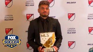 Atlanta United star Josef Martinez wins 2018 Major League Soccer MVP award | FOX SOCCER
