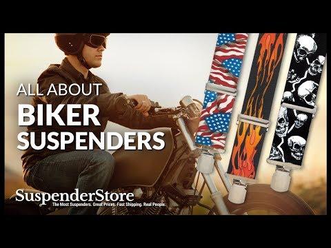 Biker Suspenders