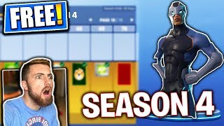 FORTNITE SEASON 4 BATTLE PASS GIVEAWAYS *FREE* Fortnite Battle Royale Livestream