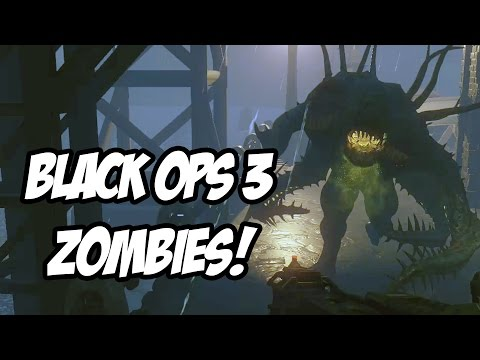 CALL OF DUTY BLACK OPS 3 - ZOMBIES GAMEPLAY em SHADOWS OF EVIL!