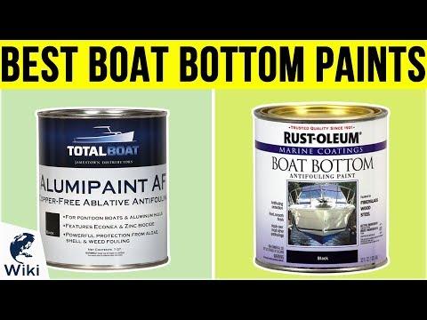10 Best Boat Bottom Paints 2019