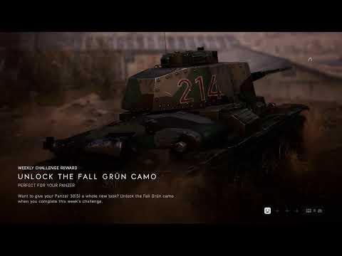 NEW TANK SKIN!!! Battlefield V Livestream | Multiplayer Gameplay | 1080p 60fps thumbnail