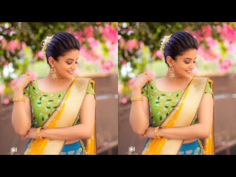 Half Saree Photo Pose Ideas For Girls Half Saree Poses For Photo Shoots Siri M Youtube