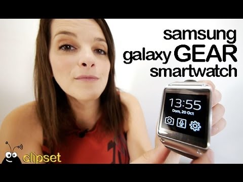 Samsung Galaxy Gear review Videorama