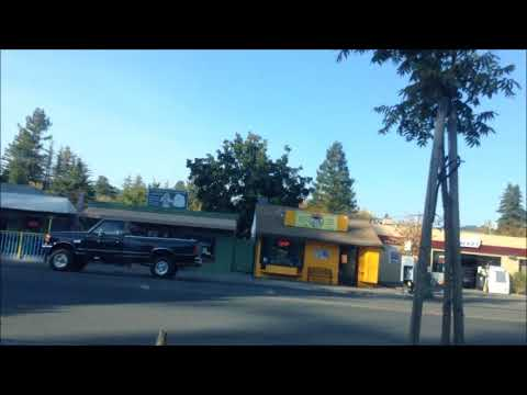 Drive to Guerneville Safeway and then moved parking; California