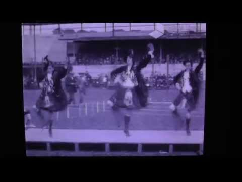 Highland dancing by the Balmoral troupe - 1921 Dundee police sport