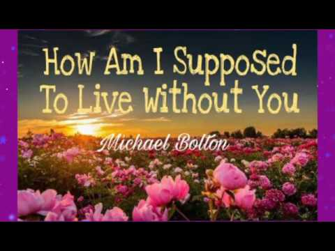 How am i supposed to live without you lyrics westlife