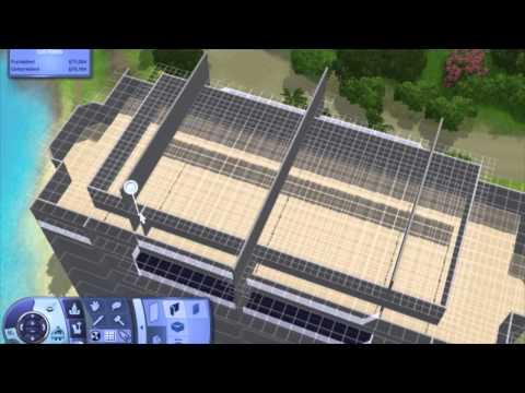 Grand Miami Resort - The Sims 3 Highrise / Skyscraper / Apartment Building Tutorial