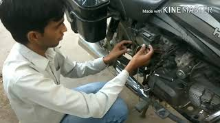 How to install GPS device in bike Hindi