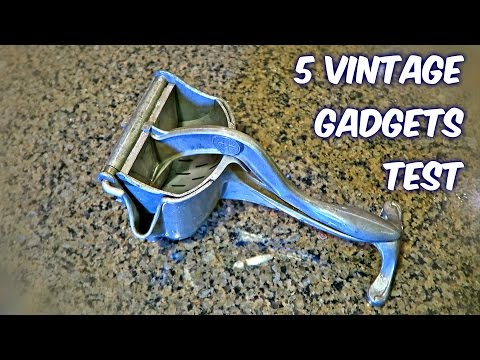 5 Vintage Gadgets Put to the Test
