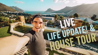 LIFE UPDATE & HOUSE TOUR! (Live stream)