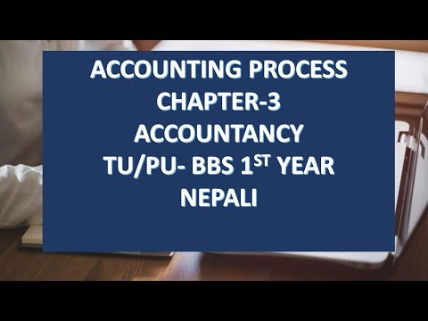 Accounting Process(JOURNAL) II bbs 1st year II CHAPTER-3 II II FINANCIAL ACCOUNTING AND ANALYSIS II