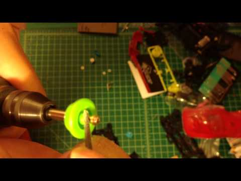 Tamiya mini 4wd Tutorial how to setup and modified MSMA counter gear