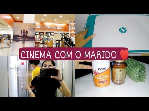 COMPREI UMA IMPRESSORA, CINEMA COM O MARIDO, COMPREI VITAMINAS... | ANDRESSA GOUVEIA