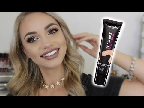 LOREAL INFALLIBLE TOTAL COVER FOUNDATION // First Impression!