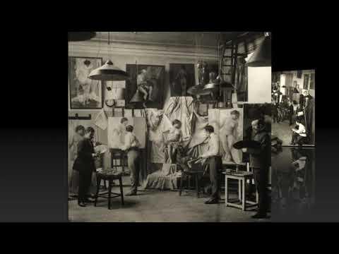 Экскурсия в Академию художеств / Excursion To The Academy Of Arts: 1895-1914