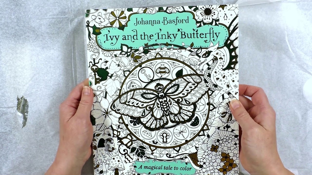 Review Ivy And The Inky Butterfly A Surprise Happy Mail Peta Is Naughty