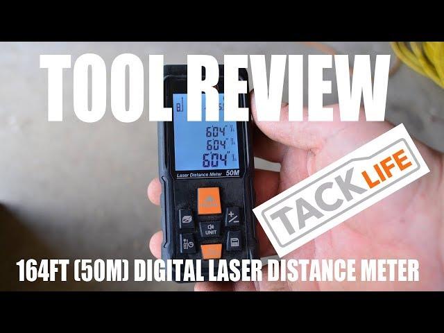TOOL REVIEW - TackLIFE Laser Distance Measure Tool - Digital Range Finder