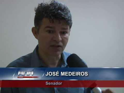 Senador José Medeiros visita Confresa  E uma reunião decide que o José Pereira Cordão será o vice do