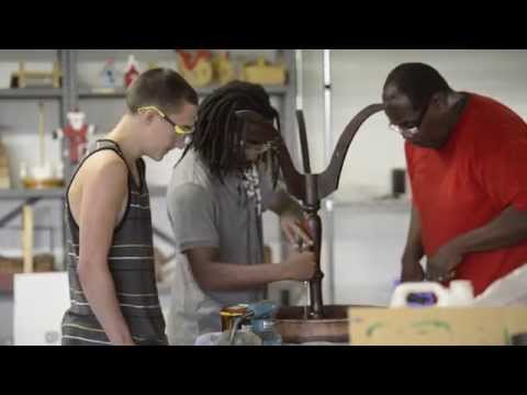 Woodshop a second home for teens