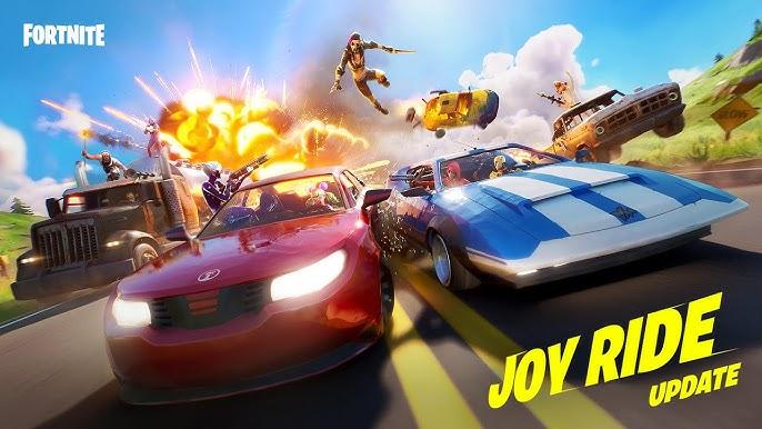 Get Behind the Wheel In The Joy Ride Update | Fortnite