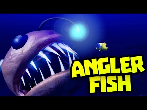 How To Grow Angler Fish - Feed and Grow Fish Update - Survival Mode (Anglerfish) Let's Play