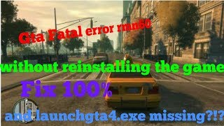 How to fix GTA IV Fatal Error invalid resources please