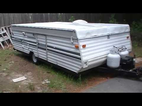 1991 Starcraft Folding Camping Popup Trailer Owners Manual