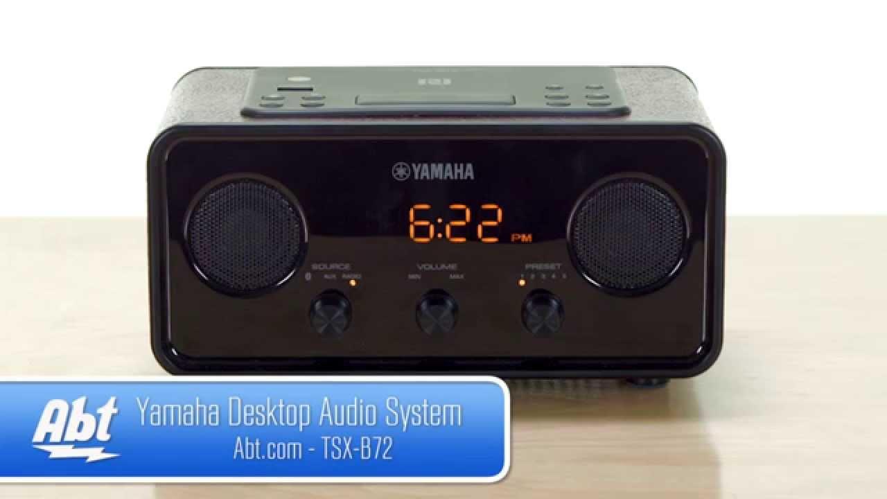 yamaha desktop audio system tsx b72 overview youtube. Black Bedroom Furniture Sets. Home Design Ideas