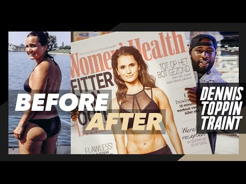 FITGIRL CHRIS over haar TRANSFORMATIE, WOMEN'S HEALTH COVER & WORK OUTS ★ Dennis Toppin Traint
