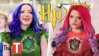 Sorting Descendants 3 Characters Into Hogwarts Houses