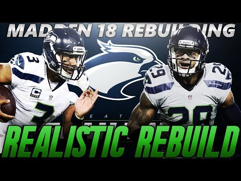 Madden 18 Connected Franchise | Seattle Seahawks Realistic Rebuild | 7th Round Gem Draft Pick!
