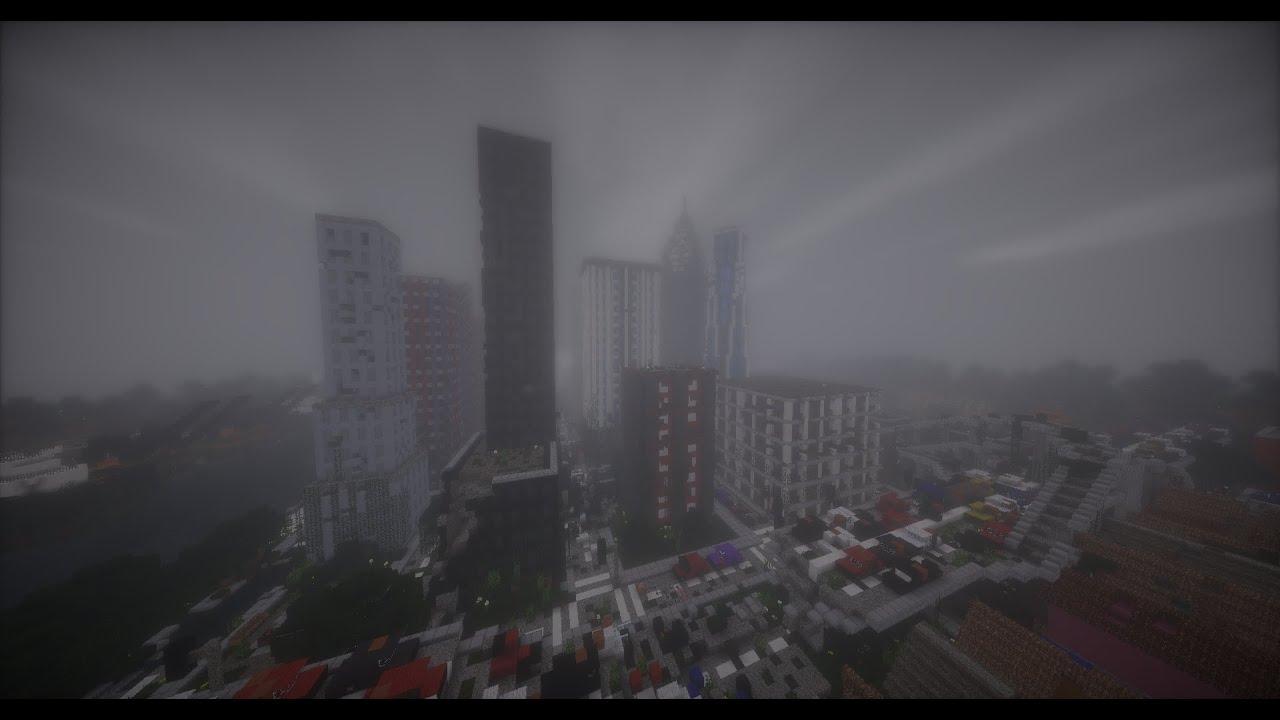 Post Apocalyptic City In Minecraft YouTube