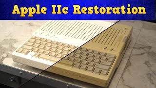 Apple IIc Restoration and video jack repair thumbnail
