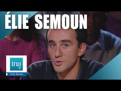 Interview mensonge Elie Semoun - Archive INA