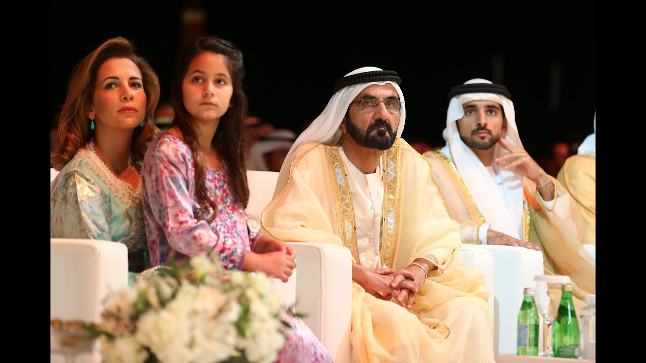 Dubai Sheikh Family Photo