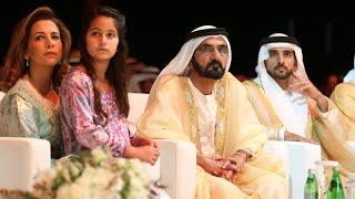 محمد بن راشد يكرم الفائزين بجائزة \